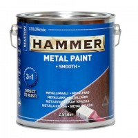 Paint Hammer Smooth Blue 10l
