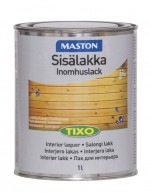 Tixo indoor lacquer, waterbased, semi gloss 1l
