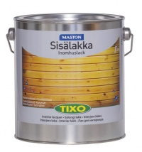 Tixo indoor lacquer, waterbased, semi gloss 3l