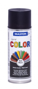 Spraymaali Color Mattamusta 400ml