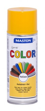 Spraypaint Color Yellow Gloss 400ml