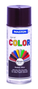 Spraymaali Color Ruskea 400ml