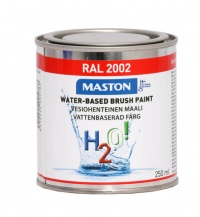 Paint H2O! RAL2002 Vermilion 250ml