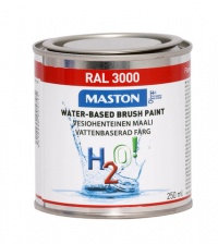 Paint H2O! RAL3000 Flame red 250ml