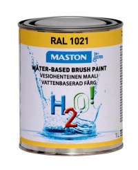 Paint H2O! RAL1021 Bright yellow 1l