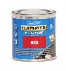Maston Hammer metal paint smooth red