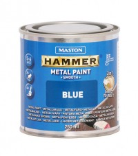 Paint Hammer Smooth Blue 250ml