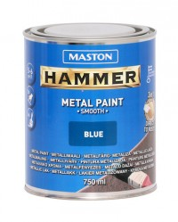 Paint Hammer Smooth Blue 750ml