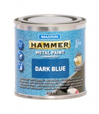 Paint Hammer Hammered Blue 250ml