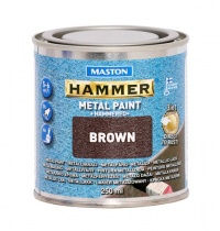 Paint Hammer Hammered Brown 250ml