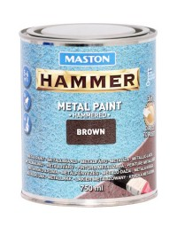 Paint Hammer Hammered Brown 750ml