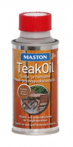 Teak Oil 180ml ruskea