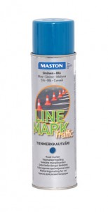 Spraypaint Linemark Traffic blue 585ml