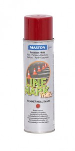 Spraypaint Linemark Traffic red 585ml