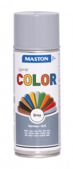 Spraypaint Color Grey Gloss 400ml