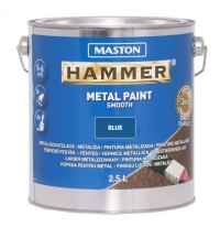 Paint Hammer Smooth Blue 2,5l