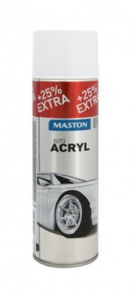 Spraypaint AutoACRYL White 500ml