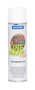 Spraymaali Linemark Traffic valkoinen 585ml