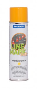 Spraypaint Linemark Traffic yellow 585ml