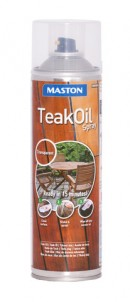 Spray Teak Oil 500ml väritön