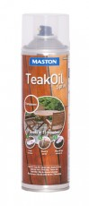 Maston Teak oil spray väritön