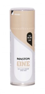 Spraymaali ONE - Satiini Beige RAL1001 400ml