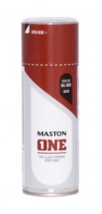 Spraypaint ONE - Satin Ruby Red RAL3003 400ml