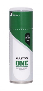 Spraypaint ONE - Satin Green RAL6029 400ml