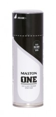 Spraymaali ONE - Satiini musta RAL9005 400ml