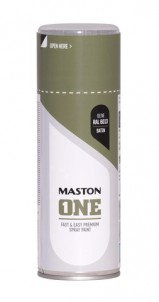 Spraypaint ONE - Satin Olive RAL6013 400ml
