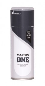 Spraymaali ONE - Satiini Graphite Grey RAL7024 400ml