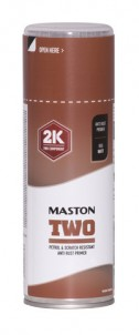 Spraypaint Maston 2K Two Anti-Rust primer Red 400ml