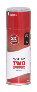Spraypaint Maston 2K Two Flame Red RAL3000 400ml