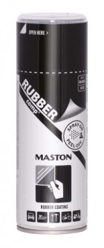 Spray RUBBERcomp Black 400ml