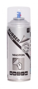 Spray RUBBERcomp Genomskinlig matt 400ml