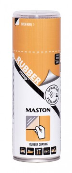 Kumimaalispray RUBBERcomp Neon Oranssi matta 400ml
