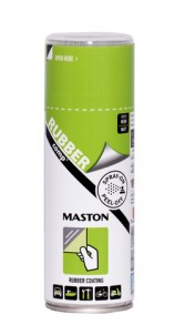 Spray RUBBERcomp Neon grön 400ml