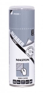 Spray RUBBERcomp Metall grå 400ml