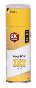 Spraypaint Maston 2K Two Brigh Yellow RAL1021 400ml