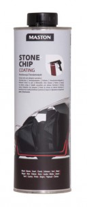 Stonechip coating STH-51 black Auto 1L (screw-top jar)