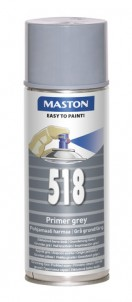 Spraypaint 100 Grey primer 518 400ml
