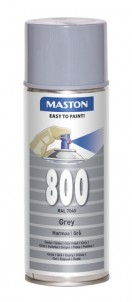 Spraypaint 100 Grey 800 400ml RAL7040