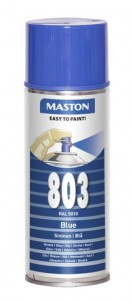 Spraypaint 100 Blue 803 400ml RAL5010