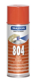 Spraypaint 100 Orange 804 400ml RAL2004