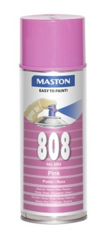 Spraypaint 100 Pink 808 400ml RAL4003
