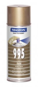 Spraypaint 100 Gold 995 400ml
