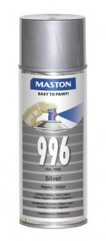 Spraypaint 100 Silver 996 400ml RAL9006