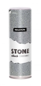 Spraypaint Granite Grey Stone effect 400ml