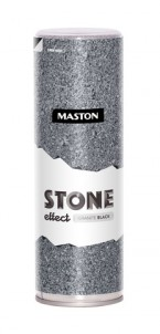 Spraymaali Granite Black Stone effect 400ml