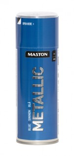Spraypaint Metallic Blue 400ml
